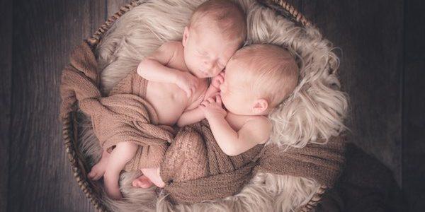 Zwillinge aus Braunschweig beim Babyshooting