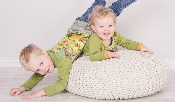 Kinderfotos von Geschwistern aus Bad Harzburg