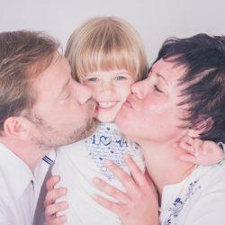 im Atelier fotografiere ich Familienbilder